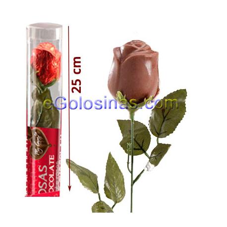 rosa sant jordi chocolate