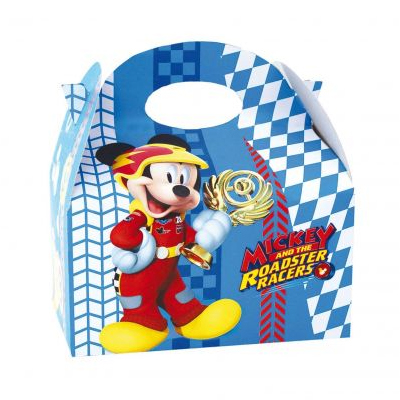 mickey súperpilotos caja chuches