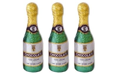 BOTELLAS CHOCOLATE